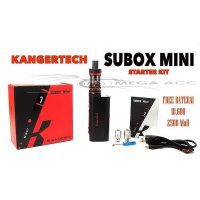 2016 Newest Kangertech Subox Mini PRO 50W Tc Starter Kit! 100% Genuine Kanger Topbox Mini