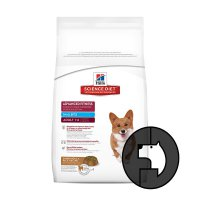 science diet 3 kg dog small bites advanced fitness lamb meal and rice
