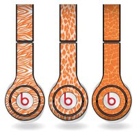 [macyskorea] VictoryStore Orange Animal Print Set of 3 Headphone Skins for Beats Solo HD H/7150277