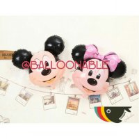 Balon Foil Huruf Mickey / Minnie Mouse by Balloonable
