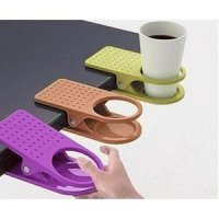 Plastic Table Coffee Cup Holder Clip