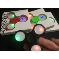 Fidget Hand Spinner / Lampu Led / Lamp Toys Spiner / Mainan Jari