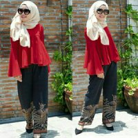 HIJAB GLENDA 3IN1 GM