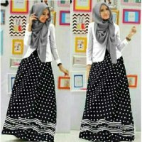 SET 4IN1 HIJAB POLKA NIKITA AB