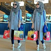 HIJAB CINDY 3IN1 TUNIK GM