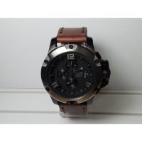 Jam Tangan Pria Alexandre Christie AC6295MC Chrono Black List Grey