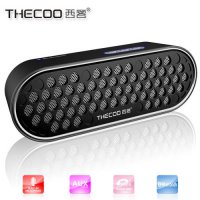 [globalbuy] Thecoo Supper HIFI outdoor Mini bluetooth speaker 4.0 plastic charger wireless/4428472