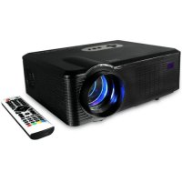 Cheerlux CL720 Mini Proyektor Projector HD Portable LED 3000 Lumens