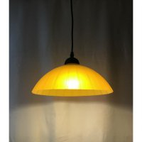 Lampu Gantung Simple (LG 027) - Orange + FREE LED