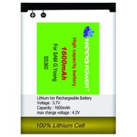 BATTERY HIPPO SAMSUNG YOUNG s5360 1600MAH