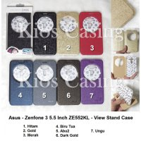Asus Zenfone 3 5.5 Inch ZE552KL - Flip Cover View Stand (Case Casing Sarung)
