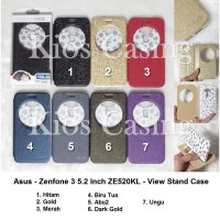 Asus Zenfone 3 5.2 Inch ZE520KL - Flip Cover View Stand (Case Casing Sarung)