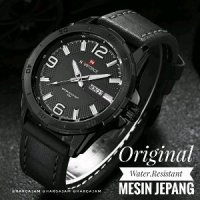 Elegan - Jam Tangan Pria Original By Hargajam Cowok Ori Anti Air Water Resist Proof Renang