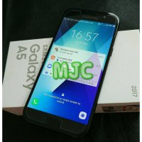 2nd Samsung A5 2017 A520 Black Mulus Like New Fullset Komplit ORi
