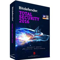 Bitdefender Total Security 2016 1 Year / 1PC