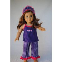 [macyskorea] Unique Doll Clothing Cupcake Pajamas for 18 Including The American Girl Line /6374591