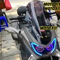 Windshield Nmax Garansi Tidak Pecah Visor Motor Matic N Max| Visor Nmax|Windshield Nmax| Wind Shield
