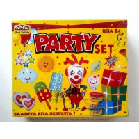 Fundoh Party set/fun doh ice cream/playdoh ice cream/play doh ice cream/fundoh murah/playdoh murah