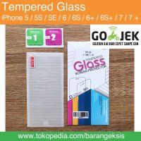 Tempered Glass iPhone 5 5S 6 6+ 6 PLUS 7 7+ 7 PLUS / AN