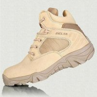 Delta Sepatu Army Tracking Shoes Tactical Pendek - Coklat EU40