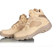 Delta Sepatu Army Tracking Shoes Tactical Pendek - Coklat EU41