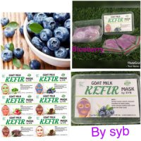 Kefir Mask Blueberry by SYB - Masker Kefir Blueberry Original