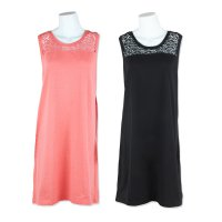 [GAP 15] DRESS WANITA - BRANDED DRESS - EMBROIDERY WOMEN DRESS - 2 COLORS - BAHAN COTTON SPANDEX SUPER NYAMAN- HIGH QUALITY