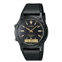 JAM TANGAN CASIO ANALOG & DIGITAL WATCH AW-49 H SERIES