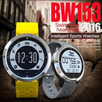 BW153 wimming Heart Rate Monitor Smart Watch Waterproof Pedometer Sport Watch Smartwatch For Apple Garmin Fenix 3 Fitbit PK DZ09