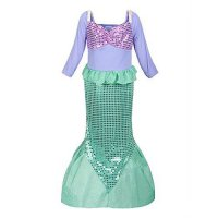 [poledit] ReliBeauty Girls Sequins Little Mermaid Costume/13396325
