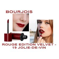 Bourjois Rouge Edition Velvet No 19 Jolie-de-vin