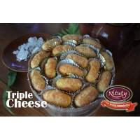triple cheese cookies