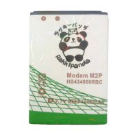 BATTERY BATERAI DOUBLE POWER DOUBLE IC RAKKIPANDA MODEM SMARTFREN M2P / BOLT SLIM 2 4000mAh