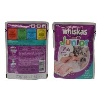 Whiskas Makanan Kucing junior Tuna Wet Sachet 85g