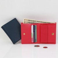 Korean Trendy Style Women Colorful Cute Card Purse Wallet / g0896-2_ Frome Street Non Leather Billf