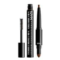 NYX Professional Make Up 3 In 1 Brow Soft Brwn