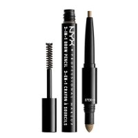 NYX Professional Make Up 3 In 1 Brow Taupe