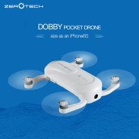 ZEROTECH Dobby Pocket Selfie Drone FPV With 4K HD Camera and 3-Axis Gimbal GPS Mini RC Quadcopter PK yunnec breeze Free shipping