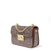 2171 Charles & Keith Glitter Crossbody