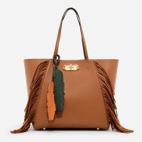 2254 Charles & Keith Overzised Turn Lock Tote
