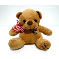 Boneka Teddy Bear Brown Import Soft Doll