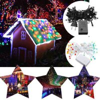 [globalbuy] Xmas Party 9M New Year Christmas 72 LED Light Strip Garlands Fairy Garden Wedd/4623819