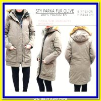 (Coat) Original Styles Women Olive Winter Coat - Jaket Musim Dingin Wanita
