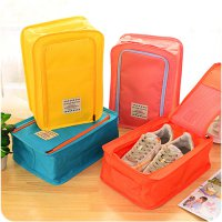 Hot Promo Korea Colorful shoes pouch travel ver 3 / tas sepatu / bag organizer