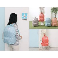 Hot Promo Korean Weekeight Folding Backpack / Tas Punggung / Tas Lipat Korea