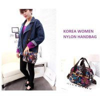 Hot Promo Korea Women Nylon Hand Bag / Tas Selempang / Tas Tangan
