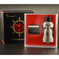 CAPTAIN RTA BY TESLACIGS 24MM SILVER - RTA VAPOR VAPE / TESLA CAPTAIN