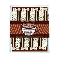 [poledit] Melville Candy Mini Marshmallow Hot Chocolate Stirrers, 2.4Oz. (Pack of 8) (T1)/12372449
