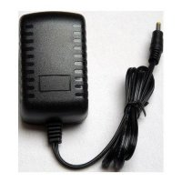 HN-1208 AC ke DC Power Adaptor TV Portable - Hitam