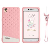 Oppo Neo 9 A37 - Fabitoo Cute Bunny TPU Rubber Soft Back Case